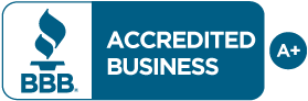 Better Business Bureau A+ Rating Seal