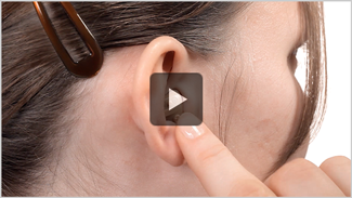 How to put in an ITE hearing aid