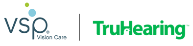 VSP and TruHearing logos Footer Logo